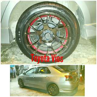 Tyre 205/50 R16 Membat on Toyota Vios 🐕 Super Offer 🙋