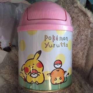 pokemon x kanahei 比卡超 迷你垃圾桶曲奇