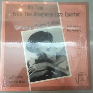 Maxine Sullivan - On Tour with the Allegheny Jazz Quartet, Vinyl LP, Jump Records - J12-14, 1994, USA