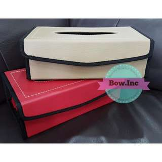 CLEARANCE SALE! LEATHER TISSUE BOX