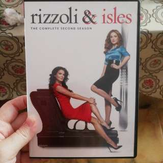 Rizzoli and Isles DVD 2nd Season (including smartpac)