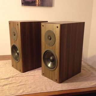 Luxman S-007 Audiophile Bookshelf Speakers