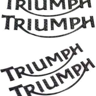 Emblem Triumph Carbon 3D