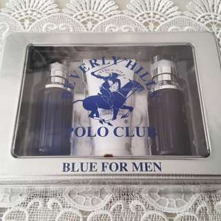 Beverly Hill Polo Club Blue Set for Men