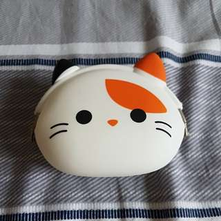 Kitty Cat Silicone Purse