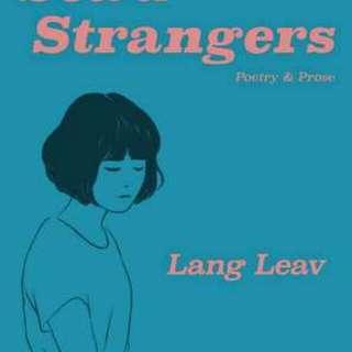 Sea of Stranger by Lang Leav