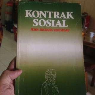 Kontrak Sosial - JJ Rousseau