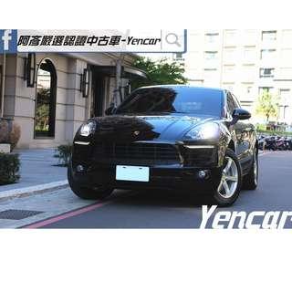 FB搜尋【阿彥嚴選認證車-Yencar】'14年保時捷 Macan 2.0L 永業總代理、原漆原鈑、原廠紀錄、中古車、二手車