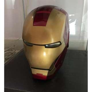 Iron man helmet life size LED lit up