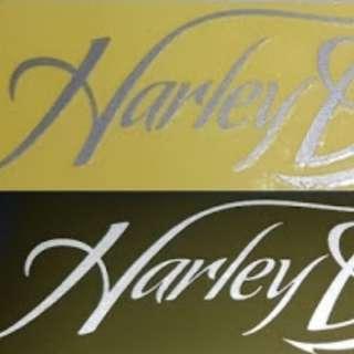 Sticker Harley Waterproof Reflective
