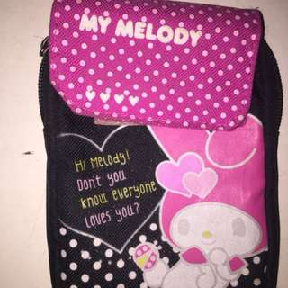 Cute my melody sanrio pouch