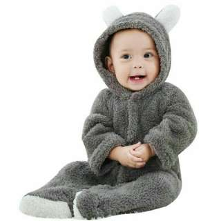 Baby Warm Jumpsuit Rompers