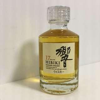 響 17 years old HIBIKI 50ml (bought from Japan)