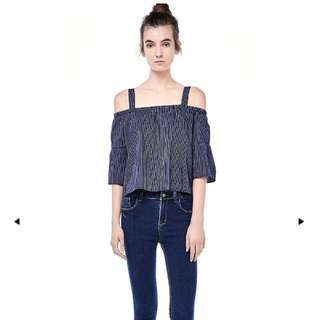 The Editor's Market Cold Shoulder Top