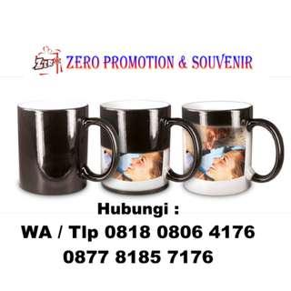 CETAK Gelas/Mug BUNGLON custom utk Hadiah,Souvenir