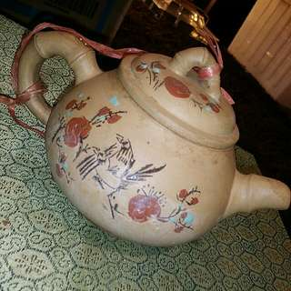 Chinese Clay Vintage Teapot