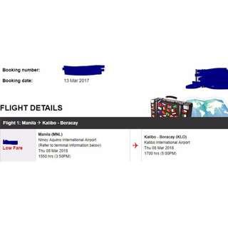 MANILA TO KALIBO - Air Asia