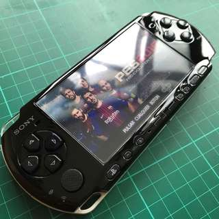 Sony Psp 3000 Slim Piano Black