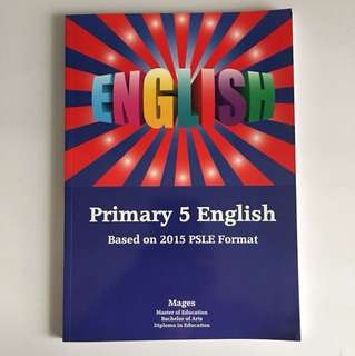 English P5 assessment book