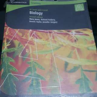 AS level and A lever Biology cambridge ed 2