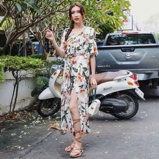 Floral Maxi with slit