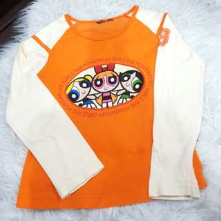 Kid's long sleeves top (6-7y/o)
