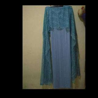 Long dress pesta