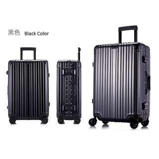 Black Rimowa Limbo Look alike Luggage Bag