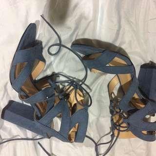 Lacey dress sandals