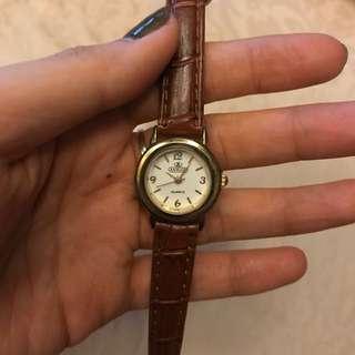 Mini Brown Watch