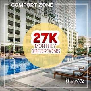 3 Bedroom Condo Unit near SM Megamall and Edsa Shangrila