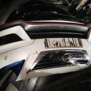 Nissan Almere bumper