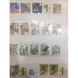 VINTAGE STAMP COLLECTION 90'S