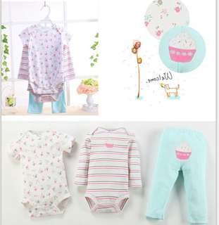 Cupcake 3 in 1 Romper Set