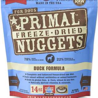 Primal Dog Food - Duck & Chicken