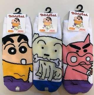 蠟筆小新襪 🌟購自日本,絕對正版🌟