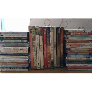 Assorted DVDs and VCDs for sale!