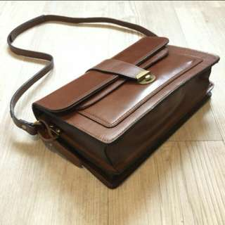 Tas vintage leather