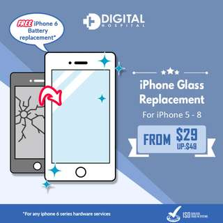 iPhone Glass Replacment