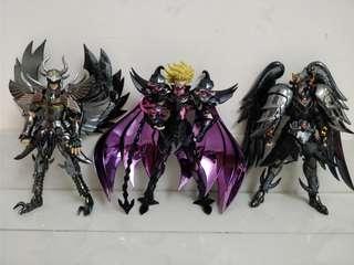 聖鬥士 聖衣神話 EX 冥鬥士 三巨頭