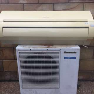 AC panasonic 1 pk (indoor & outdoor)