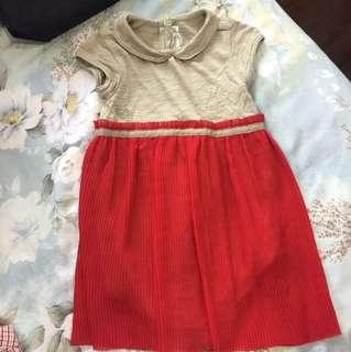 Chateau De Sable Red Dress