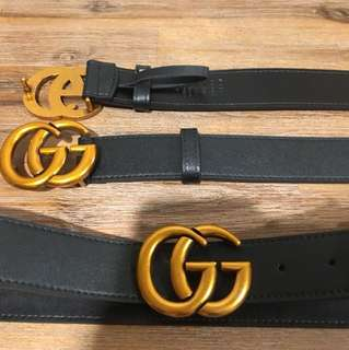 GUCCI Double G belts **IN STOCK**