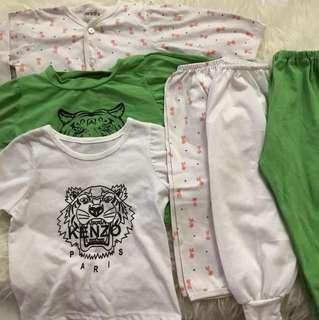 Take all 3 set baju tidur