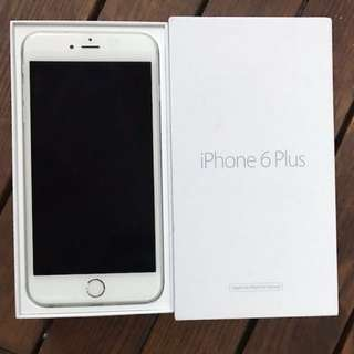 IPhone 6 Plus 64g Silver 96%new新凈 with cable1