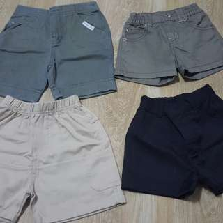 Preloved Baby Shorts P100 (less than 1 year old)
