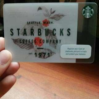 P500 Starbucks Gift Card