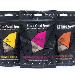 Fuzzyard treats