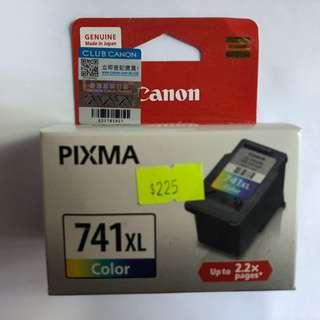 佳能 Canon CL-741XL 高容量彩色原廠墨水