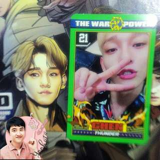 WTS/WTT Chen ✩ The Power of Music Official Photocard